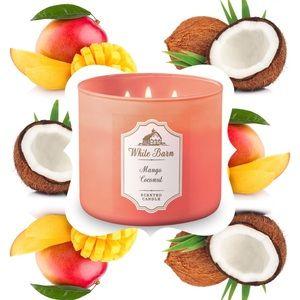 "NEW ""Mango Coconut"" Candle"